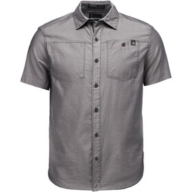 Black Diamond Solution SS Shirt Men black-ash